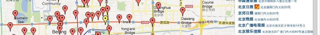 China Media Map