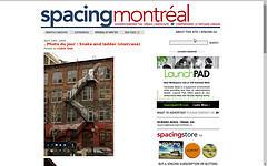 Spacing Montréal